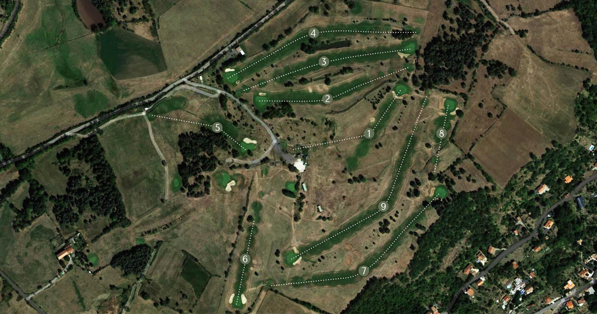 map parcours golf puy en velay